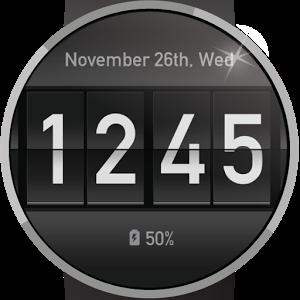 Flip Clock Watch Face