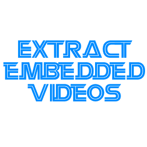 download embedded videos Apps Android