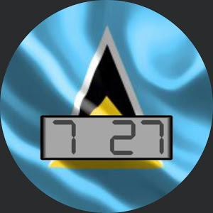 Saint Lucia Flag • WatchMaker