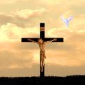 jesus on cross LWP free jesus on cross stereogram