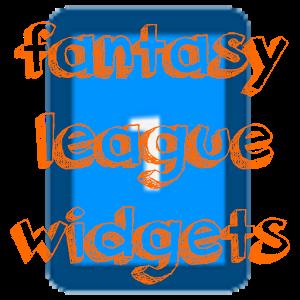 Fantasy League Widgets