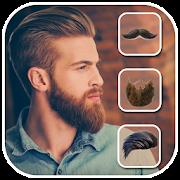 Men Hair Mustache Style - Boy Photo Editor