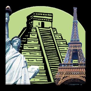 World Famous Landmarks famous theme world