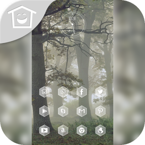 Tree theme fog
