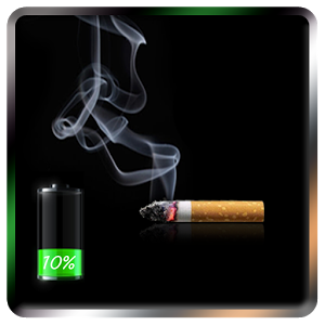 Cigarette - Battery Widget