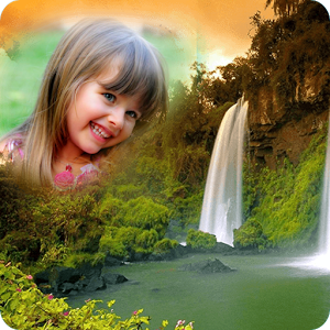 Waterfall Photo Frames Editor