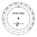 Stop Disc disc player