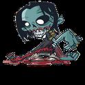 Zombie Shock santa shock zombie