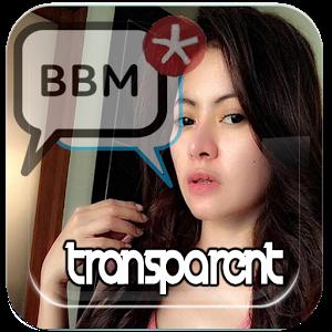 Transparent bbm theme