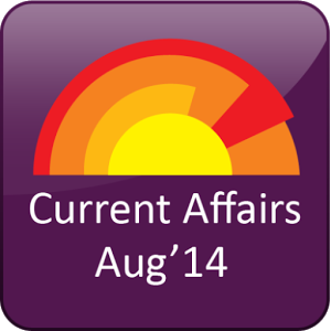 Current Affairs August2014