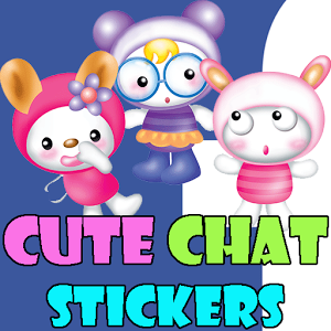 Cute Chat Stickers-Facebook