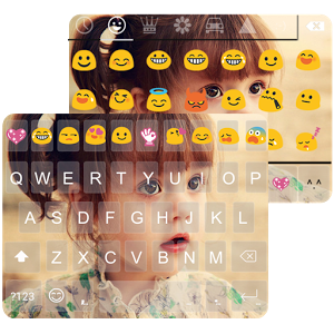 Cute Photo Emoji Keyboard