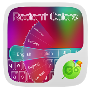 Radiant Colors Keyboard Theme