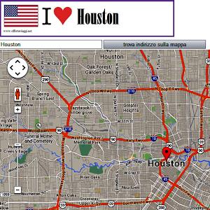 Houston map houston