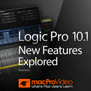 Logic Pro X 10.1 New Features