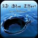Blue Effect 3D Live Wallpaper