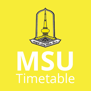 MSU Timetable route station timetable