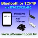 Bluetooth & TCP/IP Terminal