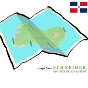 DOMINICAN REPUBLIC (EAST) map