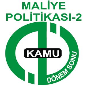 AÖF DÖNEMSONU MALİYE- POL.-2
