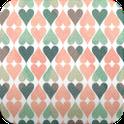 hearts patterns wallpaper13