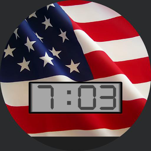 USA Flag for WatchMaker battery guide watchmaker