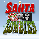 Aaargh Santa vs Zombie Pirates santa shock zombie