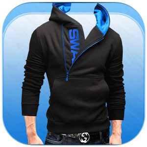 Men Sweatshirt Photo Suit