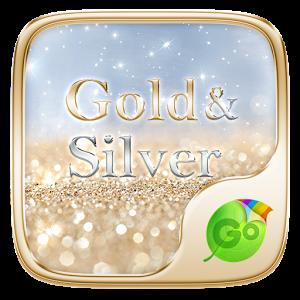 Gold & Silver Keyboard Theme