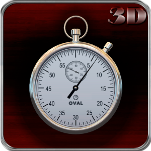 Mechanical Stopwatch 3D