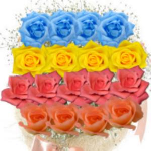 Free Sticker - Rose Basket