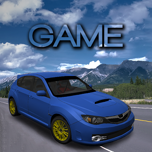 Rally Sport Car Driving