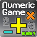 Numeric Game Easy (BrainGame) numeric keypad