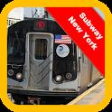 Subway Train: New York Surfer