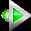 Rocket Player Dark Green Theme