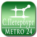 S.Petersburg,map for Subway 24