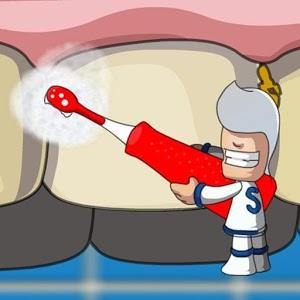 Dentist Brushing Teeth brush brushing