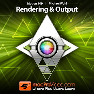 Motion 5 Rendering & Output