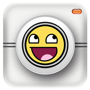 Emoji sticker photo app