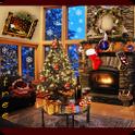 Christmas Fireplace LWP Free
