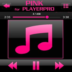 SKIN PLAYERPRO GLOSSY PINK