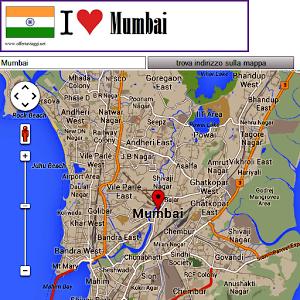Mumbai map mumbai route station