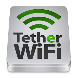 Tether WiFi Hotspot one click