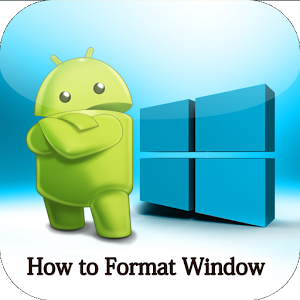 Format Windows 7 and 8 format