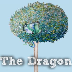 The dragon interactive book