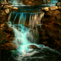 Waterfall Green live Wallpaper