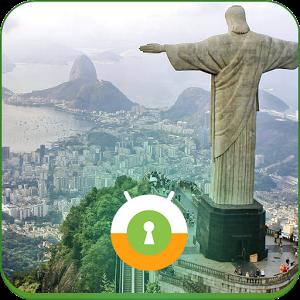 Rio de Janeiro Lock Screen