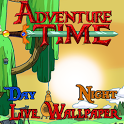 Adventure Time-Time Wallpaper sticker time
