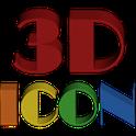 3D ICON Go launcher theme