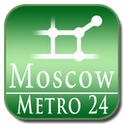 Moscow (map for Subway 24)